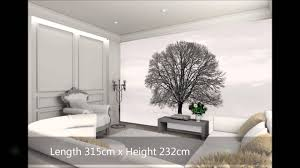 Tree Wall Murals Tree Wall Mural Wallpaper From Wesellwallmurals Youtube