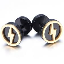mens earrings aliexpress buy 10mm stainless steel stud hoop mens earrings