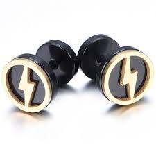 mens earrings aliexpress buy 10mm stainless steel stud hoop mens earrings