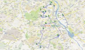 New Delhi India Map by Truly India Travel Welcome To Colorful India