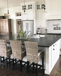 Kitchen Dining Ideas Kitchen Dining Table Lighting Stone Floor Gray Stools Nice Classic