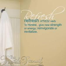 Bathroom Door Stickers Vinyl Wall U0026 Shower Door Decals Quotes Sayings Verses For Bathroom