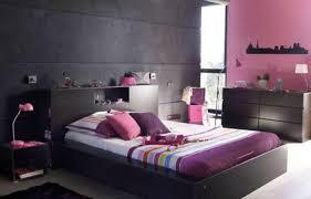 chambre gris et decoration chambre parentale harmonie de gris et prune