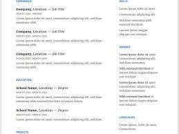 Microsoft Office Word Resume Templates Download Resume Templates Doc Haadyaooverbayresort Com