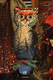 vintage halloween owl decoration probably 1950 u0027s or 60 u0027s