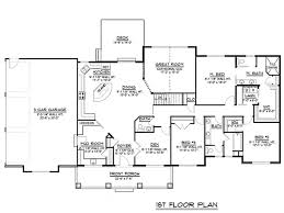 Craftsman Ranch House Plans 337 Best House Plans Images On Pinterest House Floor Plans