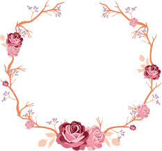 flower wreath flower wreath wall sticker tenstickers