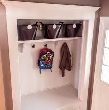 entry closet ideas always chasing life mudroom closet reveal
