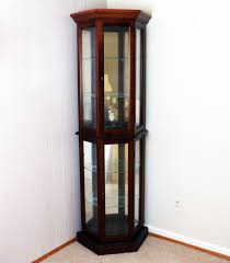 Corner Lighted Curio Cabinet Lighted Curio Cabinet Chic Curio Cabinet It Was Inspired By