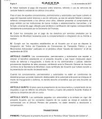 formato para pago de tenencia refrendo ejercicio 2016 consiente gobierno de edoméx aún más al pulpo camionero