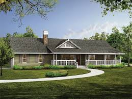 small country ranch house plan house design and office benefit