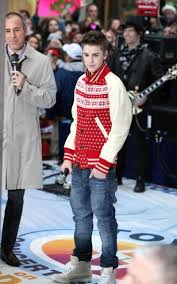 justin bieber on the today show november 2011