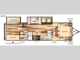 5th Wheel Camper Floor Plans Salem Travel Trailer Rv Sales 13 Floorplans
