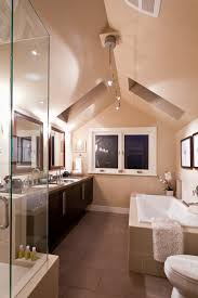 Master Bedroom With Bathroom by Master Bedroom Ensuite C W Vaulted Ceiling And Skylights Terrace