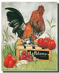 amazon com chicken rooster country farm condo la paloma kitchen