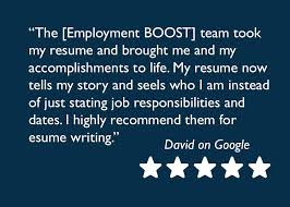 resume writing helps professional and executive resume writers employment boost