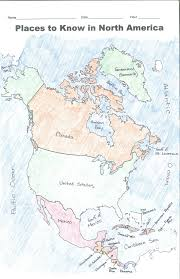 Blank World Map With Equator And Tropics by Unit 2 The World In Spatial Terms Mr Rehmann