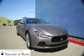 2016 maserati ghibli msrp maserati of marin new inventory for sale in san rafael ca 94901