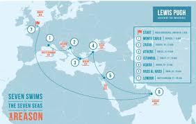 Aegean Sea Map Why I U0027m Swimming To Save The Seven Seas World Economic Forum