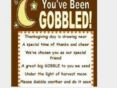 you ve been gobbled friend gifts goodies and you ve