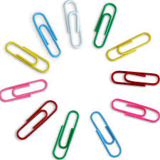 papeterie bureau 6 couleurs 120 pcs mini clip école papeterie bureau