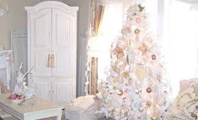 gold and white tree ideas decorating for