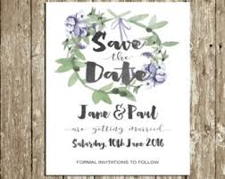 digital save the date etsy your place to buy and sell all things handmade