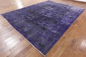 Purple Hardwood Flooring Purple Overdyed Persian Area Rug 10 U0027 X 13 U0027 Wool Hand Knotted Rug H3033