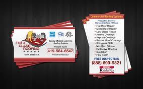 roofing business cards roofing business roofing company software