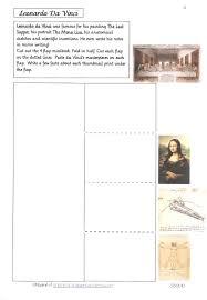 leonardo da vinci biography for elementary students leonardo da vinci biography essay leonardo da vinci 1452 1519 essay