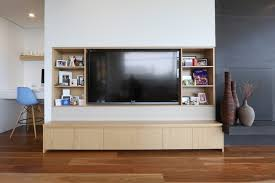 Media Room Built In Cabinets - built in tv cabinet houzz