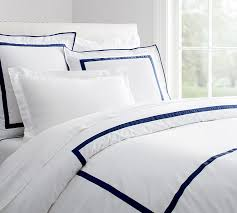 When Can A Baby Have A Pillow And Duvet Morgan 400 Thread Count Duvet Cover U0026 Sham Pottery Barn