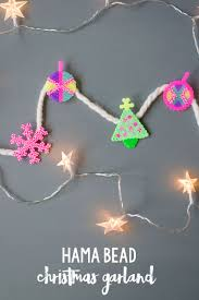 hama bead christmas garland hama beads christmas hama beads and