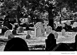 graveyard clipart black and white black and white grave yard stock picture i1467057 at featurepics