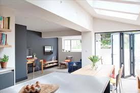 home open plan kitchen living room terraced house design open plan