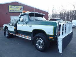 dodge tow truck 1982 dodge power ram 4x4 tow truck wrecker 1 owner vintage