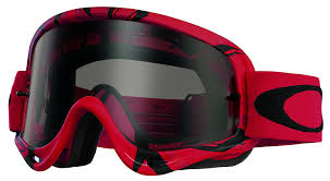 tear off goggles motocross amazon com oakley o frame mx intimidator goggles red black frame