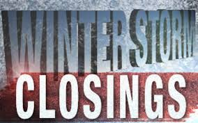 winter weather closings delays and cancellations