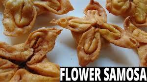 flower samosa trick easy samosa recipe indian food indian