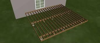 complete deck kit 20 x 24 decking railing u0026 framing included