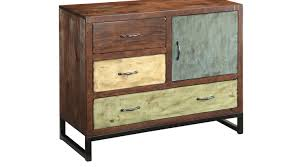 brandon creek brown medium accent cabinet rustic