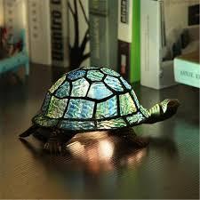 2018 vintage creative tortoise table lamp retro classical living