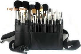 makeup artist belt 21pcs professinal makeup artist best makeup brush set with belt