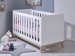 chambre bébé évolutif lit bébé évolutif 70x140cm siki blanc