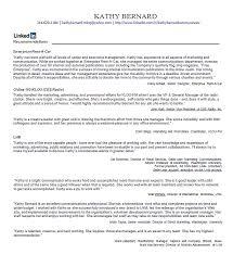 Linkedin Resume Template Stunning Design Linkedin Cover Letter 10 Resume Template