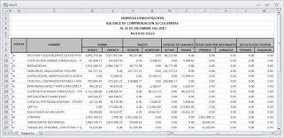 balance de comprobacion sunat balance de comprobación de 10 columnas pdf