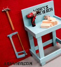 Childrens Work Benches Ana White Toy Workbench Diy Projects