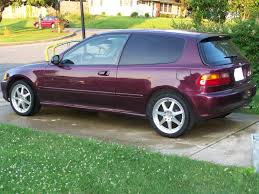 1995 honda civic dx hatchback image 51