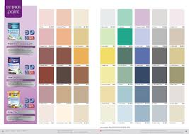 wall paint colors chart real fitness