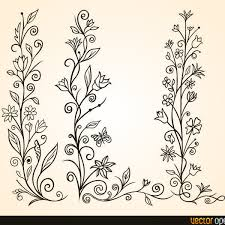free vector flower ornament freevectors net